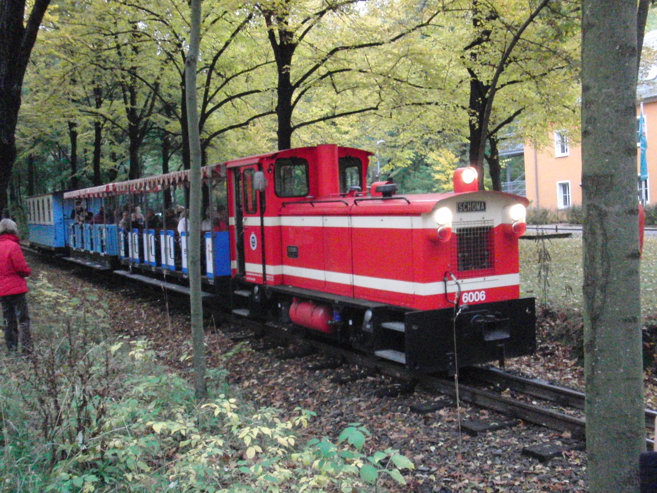 Dieselzug der Küchwaldbahn